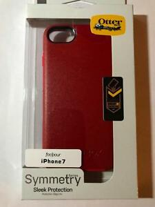 iphone 7 Symmetry otterbox burgundy new sleek protection