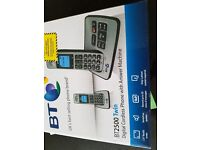 Home phone with two handsets plus answering maxhine