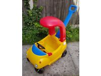 Little Tikes Cosy Coupe Ride On Car in Yellow & Red -Used in Excellent condition
