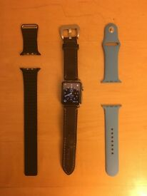 Apple Watch with essentials bands