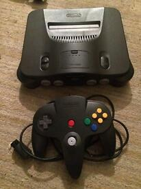 Nintendo n64 console