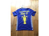BNWT - Mens Adidas Chelsea Home 2016/2017 PREMIERLEAGUE CHAMPIONS Football Shirt Jersey - M L XL