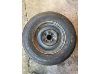Caravan sparewheel (4 stud)