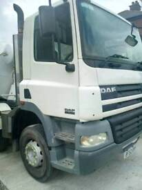 Daf 85 mixer truck. 8x4. Long MOT. Ready to work