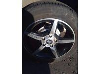 Mercedes Benz AMG Alloys 195/55/R15 New Tyres