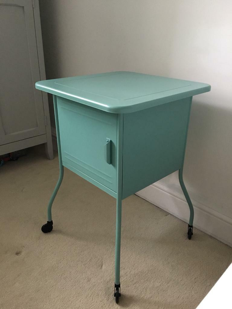 Ikea Vette Turquoise Metal Bedside Unit In Surbiton London Gumtree