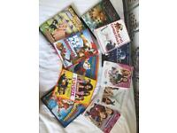 Family/kids DVD collection.