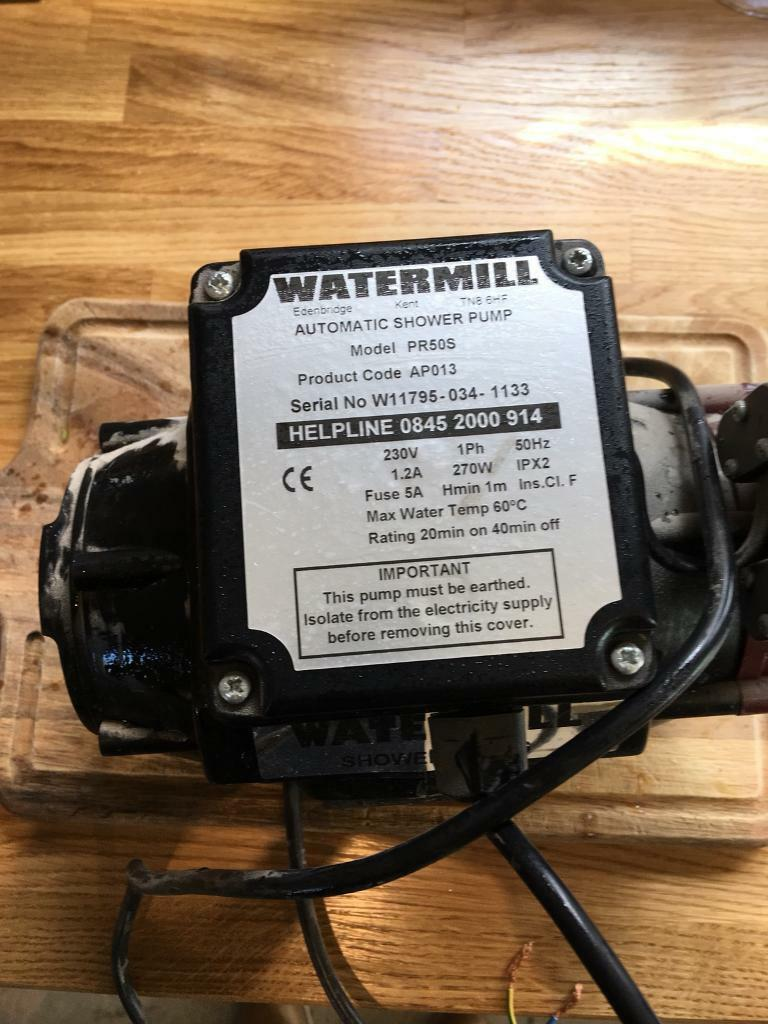 Watermill Hot Water Pump