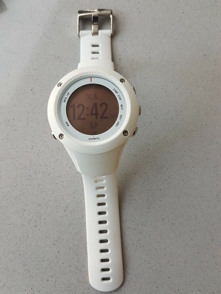 Suunto Ambit2 R Gps Running Watch Heart Rate Monitor White In
