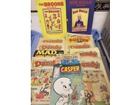 Comics,Annuals ,Books Large Collection