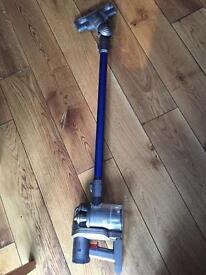 Handheld cordless vacuum dyson dc 44