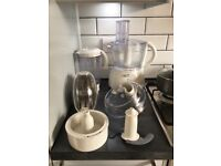 Kenwood food mixer with lots of accessories