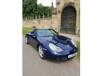 Porsche boxster 2.7 (2001) full porsche service history ///Lapis blue///