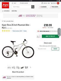 Brand new men's bicycle