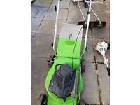 Viking mower an sthil strimmer