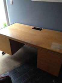 Desk vintage teachers style