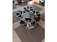 NEW 20 inch rims for BMW F10 F12 F13 F06 F30 E60 M343 style 5x120 Free UK Delivery