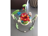 Fisher Price Rainforest Jumperoo Baby Bouncer Swing Music