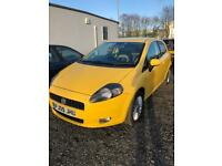 Yellow Fiat Grande Punto 1.4 8v GP 3dr good condition priced to sell first see will buy