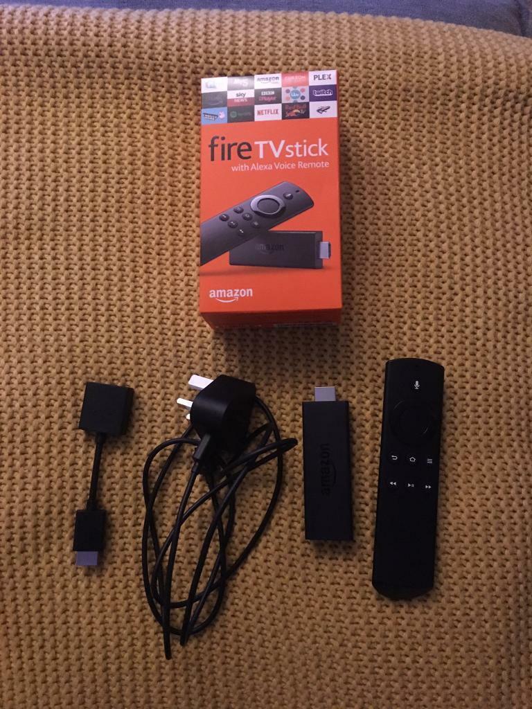 Amazon Fire Tv stick v2 with Alexa remote   in Poringland, Norfolk   Gumtree