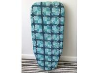 Tabletop/ countertop mini ironing board - folds flat for easy storage