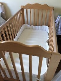 John Lewis cot - free - GONE (subject to collection on 2nd June)