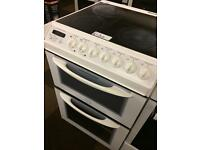 55CM TRICITY BENDIX ELECTRIC COOKER FAN ASSISTED DOUBLE OVEN7382