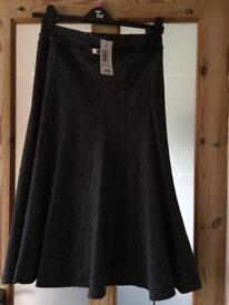Grey skirt size 10 BNWT