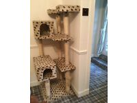 """Massive """"in height """" cat tower"""