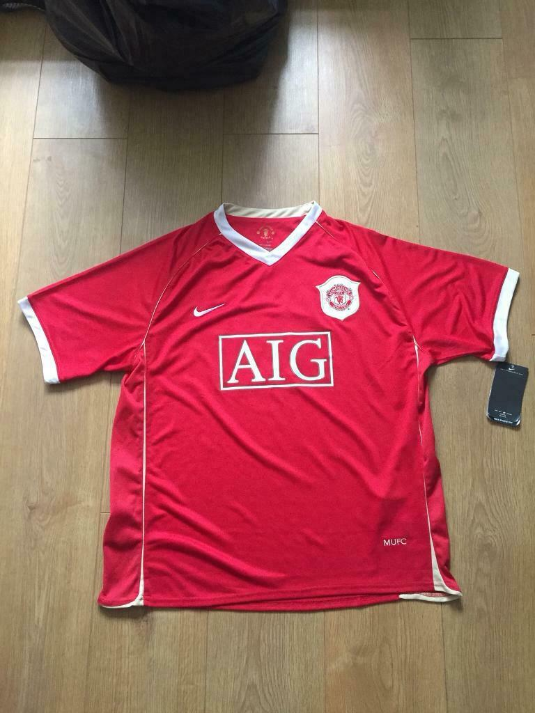 1f0d88f5eff Manchester United Home Shirt 2006 07 Season Signed By Cristiano Ronaldo