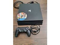 Ps4 pro (1tb) comes with one game (gta5)