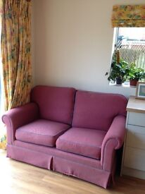 Hand built traditional 2 seater sofa
