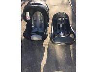 Graco car seat & isofix