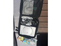 SONY PLAYSTATION 1 with carry bag and 3 games.