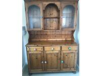 Pine dresser- ducal