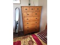 Large chest of drawers/tallboy
