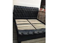 Double bed like new good price/ delivery also posival