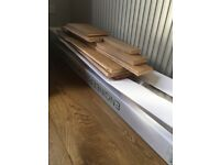 Engineered oak flooring new