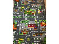 Kids road map play mat. Excellent condition