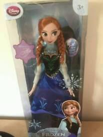 Anna Doll from Frozen film