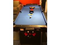 3 in 1 pool table, air hockey, ping pong.