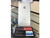iPHONE 6S 16GB, SHOP RECEIPT & WARRANTY, UNLOCKED, SILVER, GOOD CONDITION