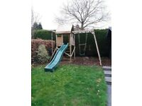 Climbing Frame ,MaxiFort Climbing Frame ,Approx 5 years old collect only,dismantle TBA