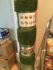 Premium Artificial Grass, Brand New Still Wrapped