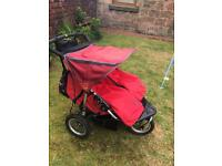**SOLD* Out n about 360 double pram/buggy £120 ONO
