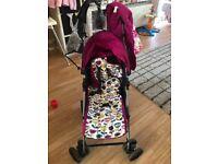 Mamma and papas stroller
