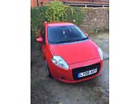 Fiat Grande Punto T-Jet Sporting - 120BHP - Rare, cheap to insure sporty car, new cambelt