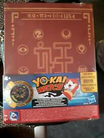 Brand new sealed yo-kai watch collectors medal folder Ideal for gift