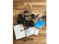 Nikon D90 DSLR camera with nikkor 18-105mm lens