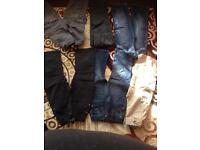 Bundle jeans and trousers 5-6 years